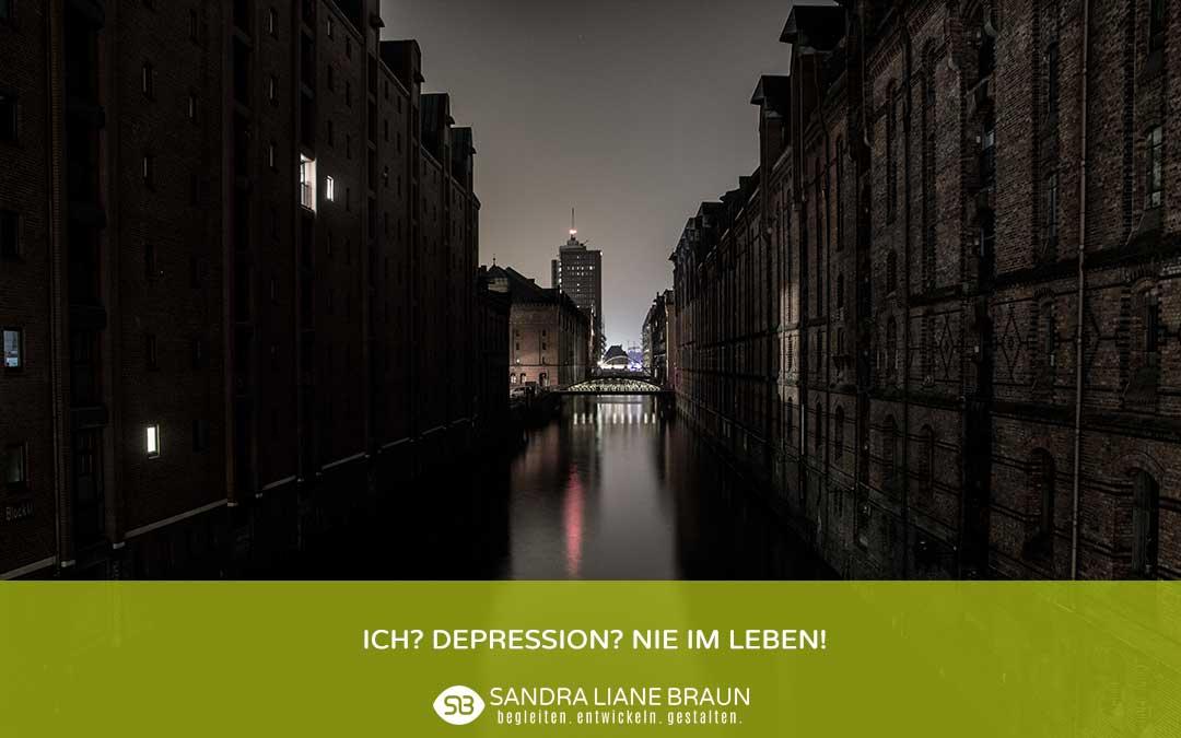 Depression dunkle Stadt
