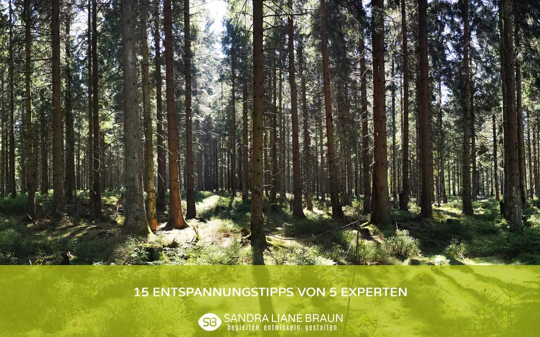 15 Entspannungstipps von 5 Experten