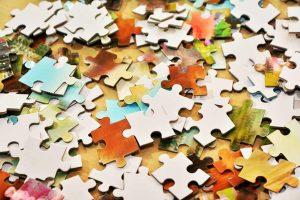 Abschalten durch Puzzle