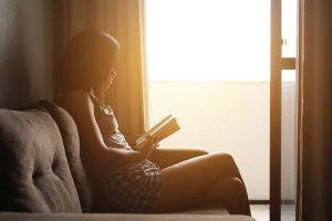 Abschalten durch Lesen